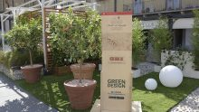 """""""Unione tra Natura e Design"""", il progetto di OBI Italia per """"I Maestri del Paesaggio""""."""