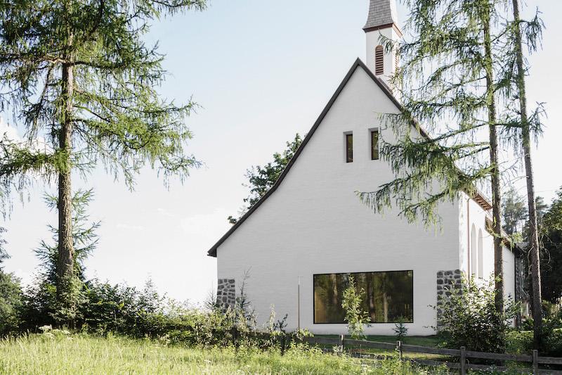 La Chiesa di Stella dopo la ristrutturazione © Davide Perbellini