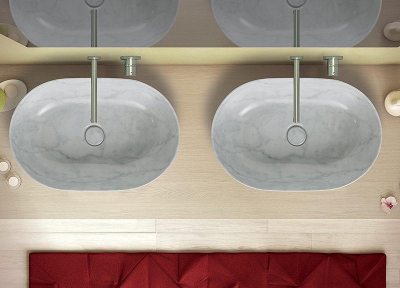 Cersaie le soluzioni ceramica globo con uno stand all insegna