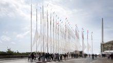 Il bosco di cedro e acciaio di OBR, da un'idea di Renzo Piano