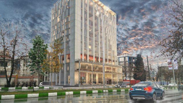 Lo studio italiano Fima per l'hotel sulla Via della Seta