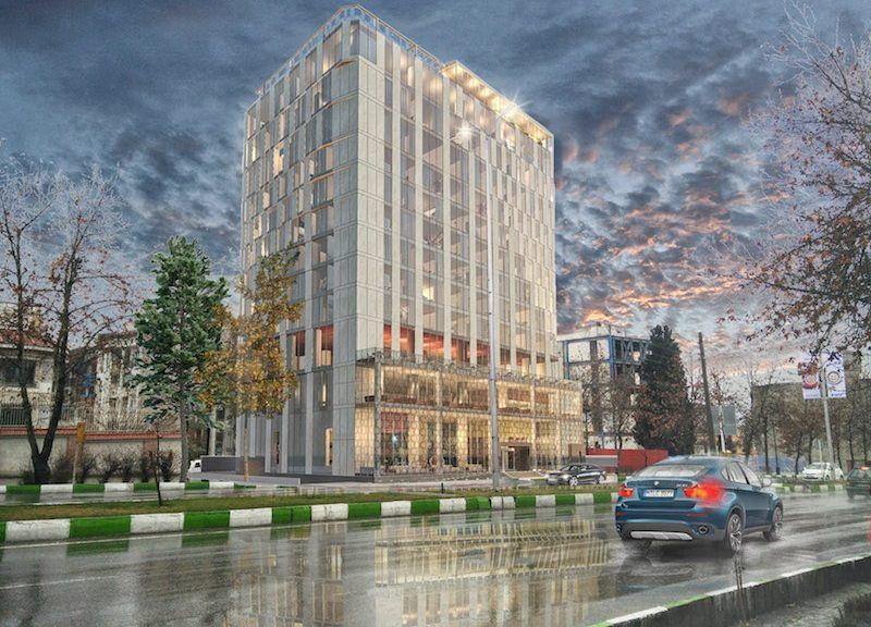 Progetto hotel a Gorgan by Fima rendering