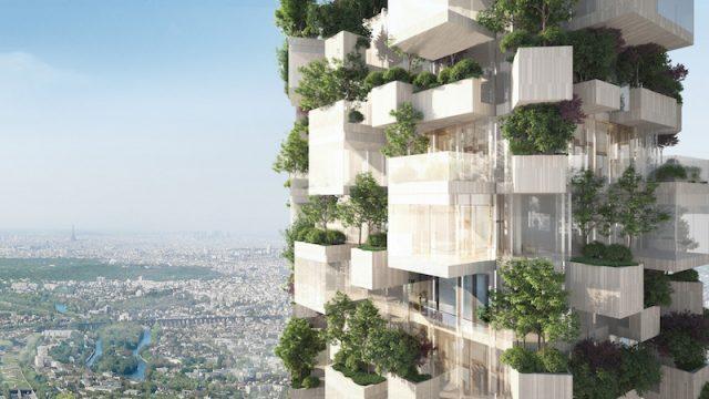 Stefano Boeri Architetti firma il primo Bosco Verticale di Parigi