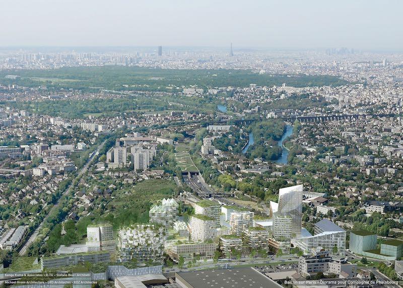 Masterplan di Balcon sur Paris