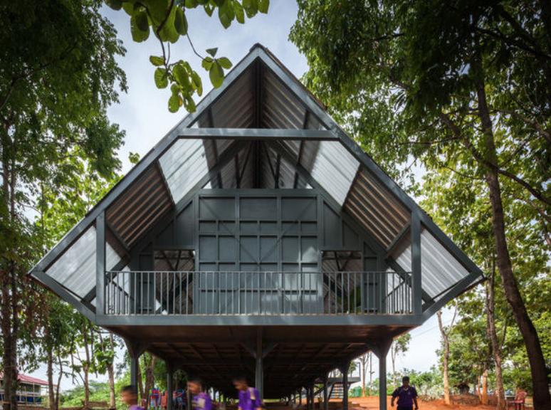Post disaster School, l'opera vincitrice del Premio Biennale Internazionale di Architettura 2017 - arch. Varavarn Varudh - studio Vin Varavarn Architects
