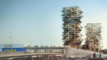 Le torri cactus nel nuovo masterplan per Copenhagen