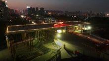 Un nuovo ponte rotante di 100° in Cina per completare un sovrappasso