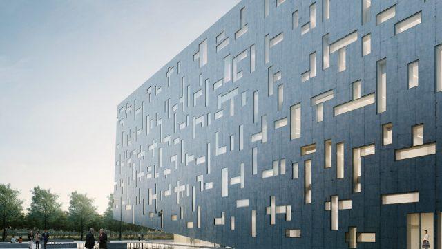La nuova sede di Gruppo Cap progettata da Studio Cleaa