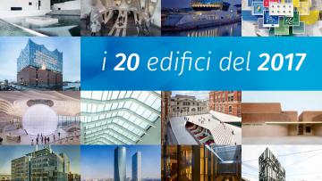 I 20 edifici del 2017 secondo Architetto.info