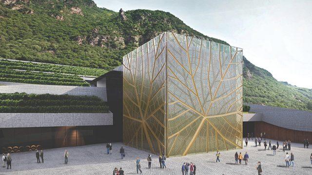 """Architettura del vino: è """"green"""" la Nuova Cantina Bolzano"""