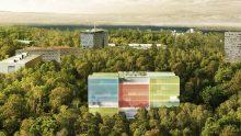 Una facciata fotovoltaica per la nuova sede di MSF a Ginevra firmata da Steven Holl e Rüssli Architekten