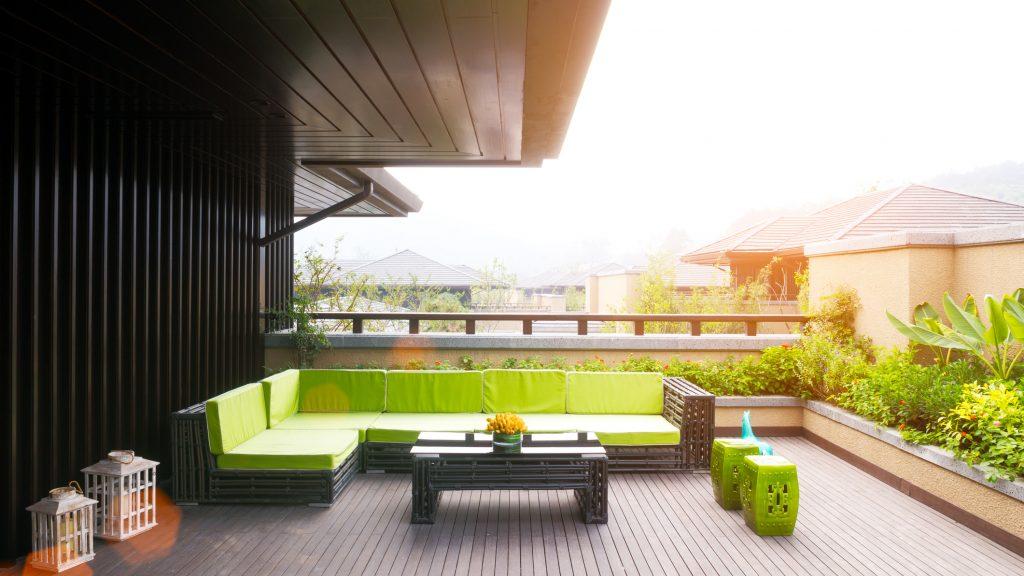 Beautiful recinzioni per terrazzi ideas design trends for Foto giardini a terrazza