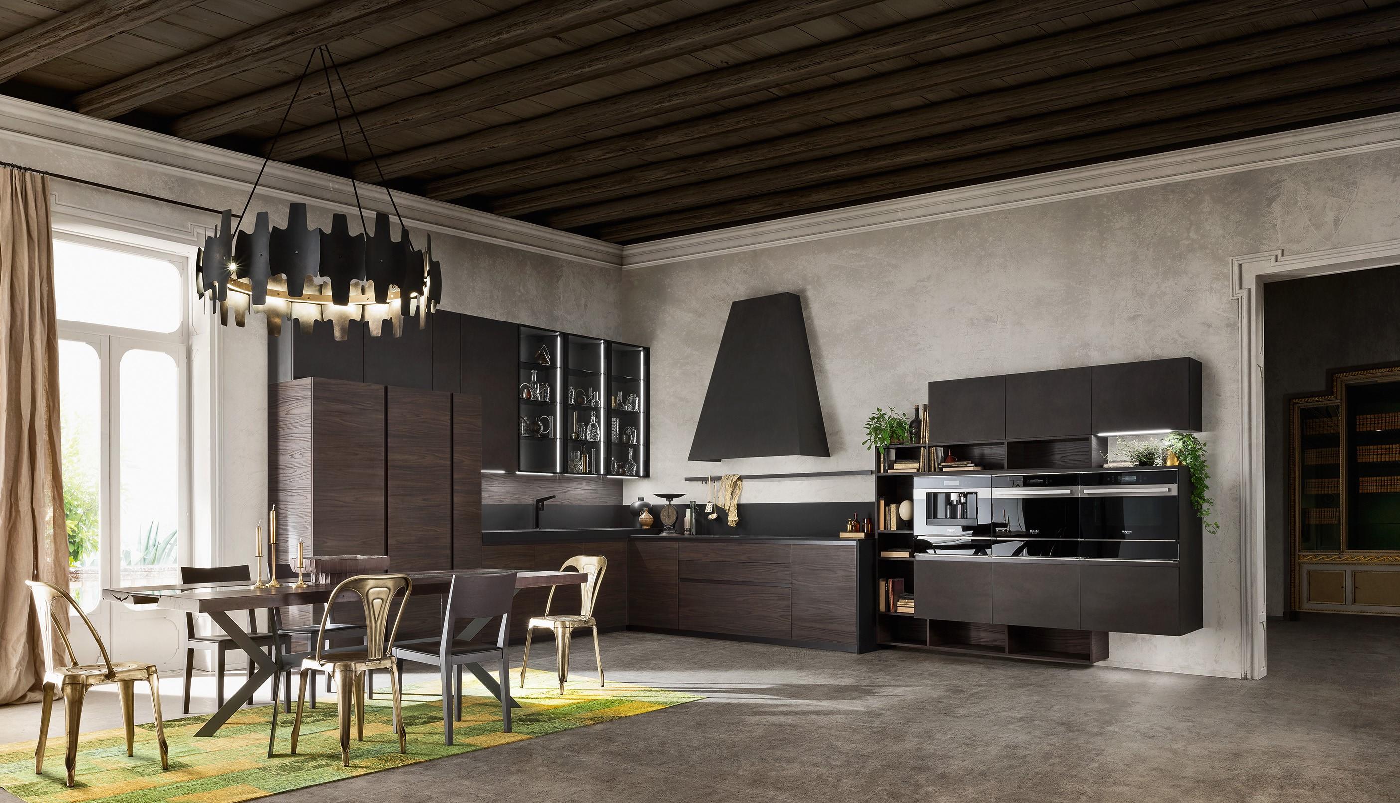 Cucine di design la qualit e la tecnologia delle proposte ar tre nel modello rebel - Cucine di qualita ...