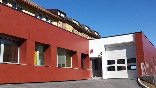 Una facciata ventilata per il nuovo Pronto Soccorso di Pieve di Cadore