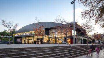 Mercato de La Muntanyeta nella periferia di Barcellona: il progetto di restyling