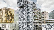 Edouard François sceglie una facciata ventilata per Le Python