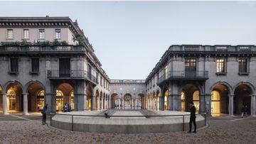 Progettazione urbana: Flânerie si aggiudica la riqualificazione del Centro Piacentiniano di Bergamo