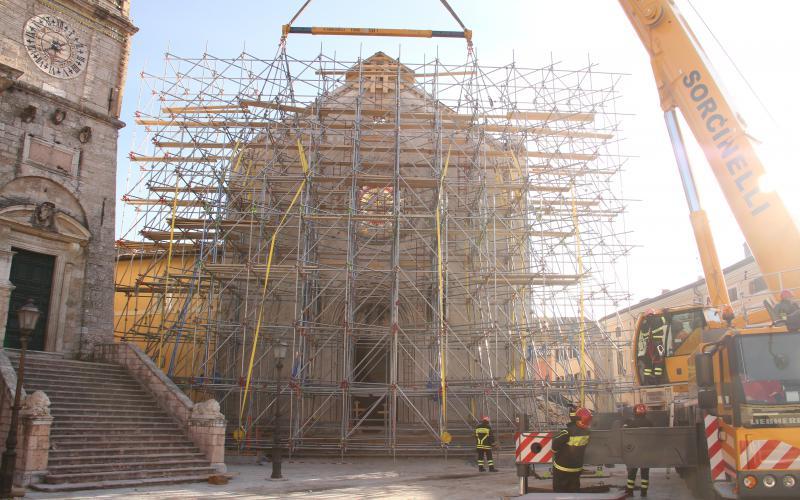 La Basilica di Norcia- image courtesy Ministero dell'Interno