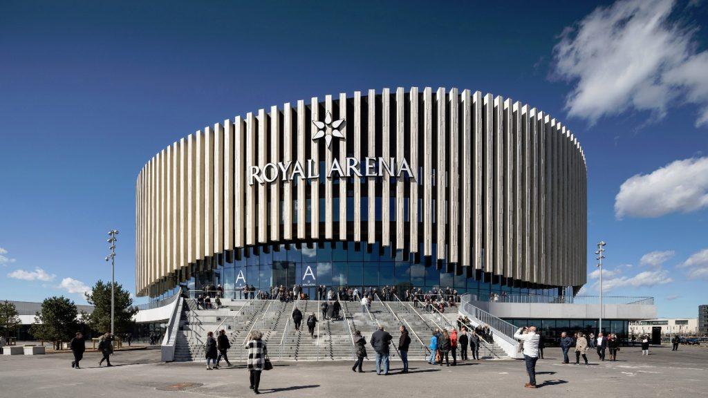 La Royal Arena a Copenaghen © Adam Mørk