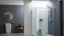Per l'arredo bagno Arblu sceglie il cristallo temperato di 6 mm