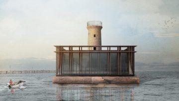 Recupero del Faro di Spignon: il progetto di studio LAD nella laguna di Venezia