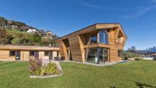 Progettazione Feng Shui e sistema strutturale in legno lunare per un residence aziendale