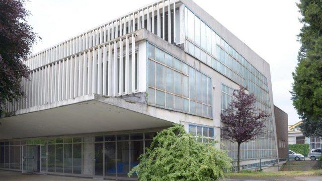 Veduta esterna dell'edificio da riqualificare