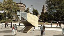 Fuorisalone: atterra a Milano la Spaceship targata IED e Rubner Haus