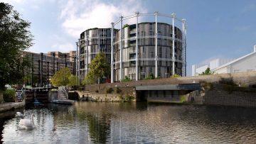 Rigenerazione urbana a Londra: i gasometri di King's Cross si convertono in quartiere di lusso