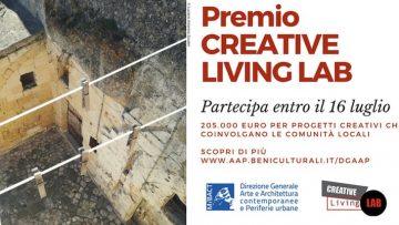 Riuso e recupero delle periferie con il premio Creative Living Lab