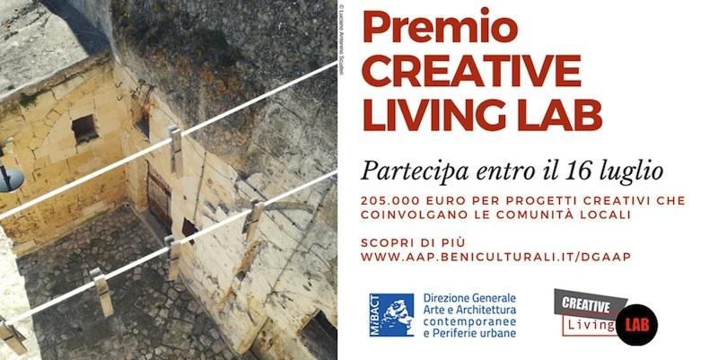 Creative Living Lab, il premio del Mibact