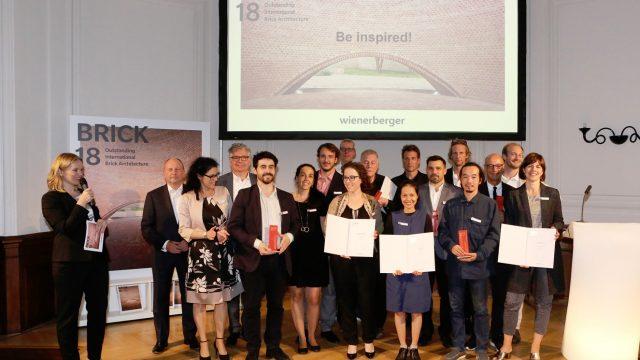 Al Wienerberger Brick Award 2018 trionfano il Belgio e la Svizzera