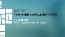 Congresso Nazionale degli Architetti: presto l'ottava edizione