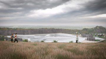 Da un'ex cava nasce un surf park: la rigenerazione urbana in Scozia si fa così