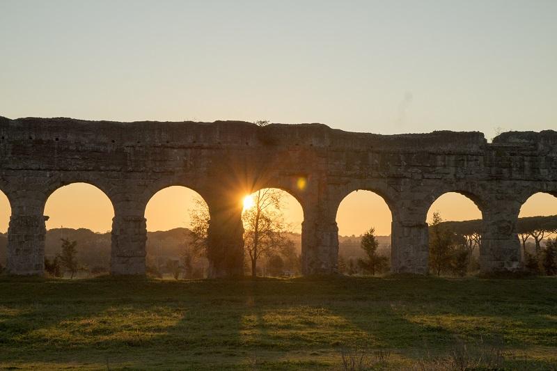 L'Acquedotto romano nel territorio del VII Municipio di Roma