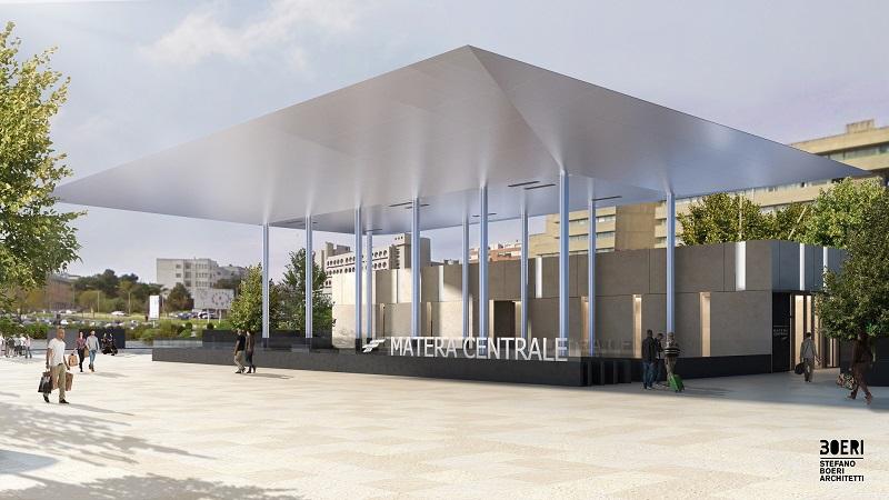 Il Progetto Di Stefano Boeri Per La Nuova Stazione Di Matera