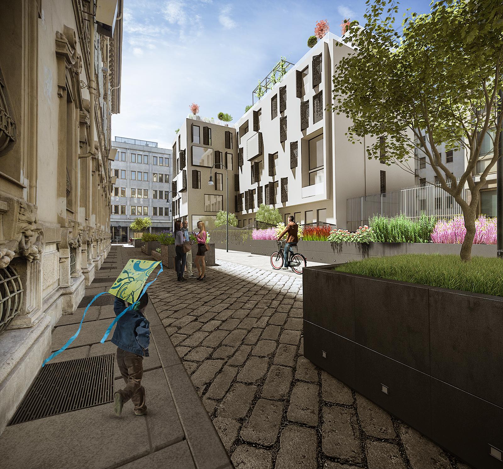 Il progetto di rinnovamento definisce una dimensione estetica perfettamente integrata con il contesto, con la storia della città e con l'architettura contemporanea © Boffa Petrone & Partners