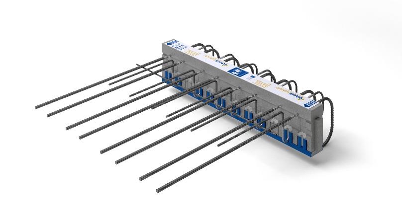 Il nuovo Isokorb® K-UZ della Schöck è l'alleato perfetto per la lotta ai ponti termici dei balconi in presenza di salti di quota  (Foto Schöck)