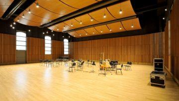 La gomma riciclata come isolante acustico: la sala prove Gavazzeni di Parma