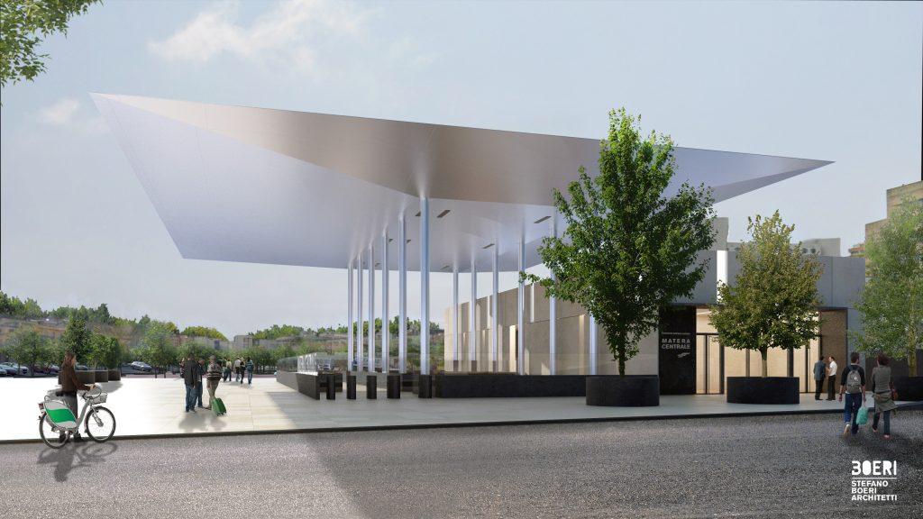 Come sarà la stazione dopo il restyling © Stefano Boeri Architetti