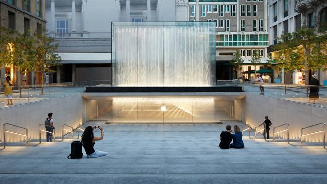 Apple Piazza Liberty: a Milano il nuovo flagship store Apple a firma Foster + Partners