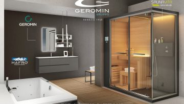 Cersaie 2018: torna il total living bathroom di Geromin con alcune novità