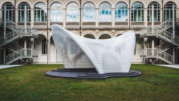 Stampa 3D e biomimetica per il Trabeculae Pavilion