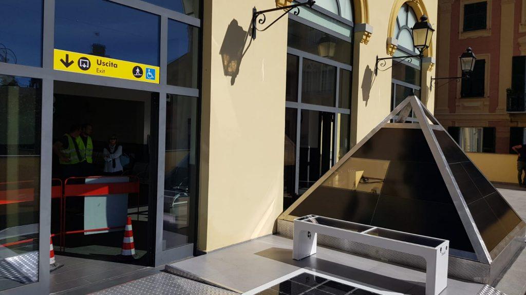 Il prototipo Dynamo, stazione ferroviaria di Rapallo © FS News