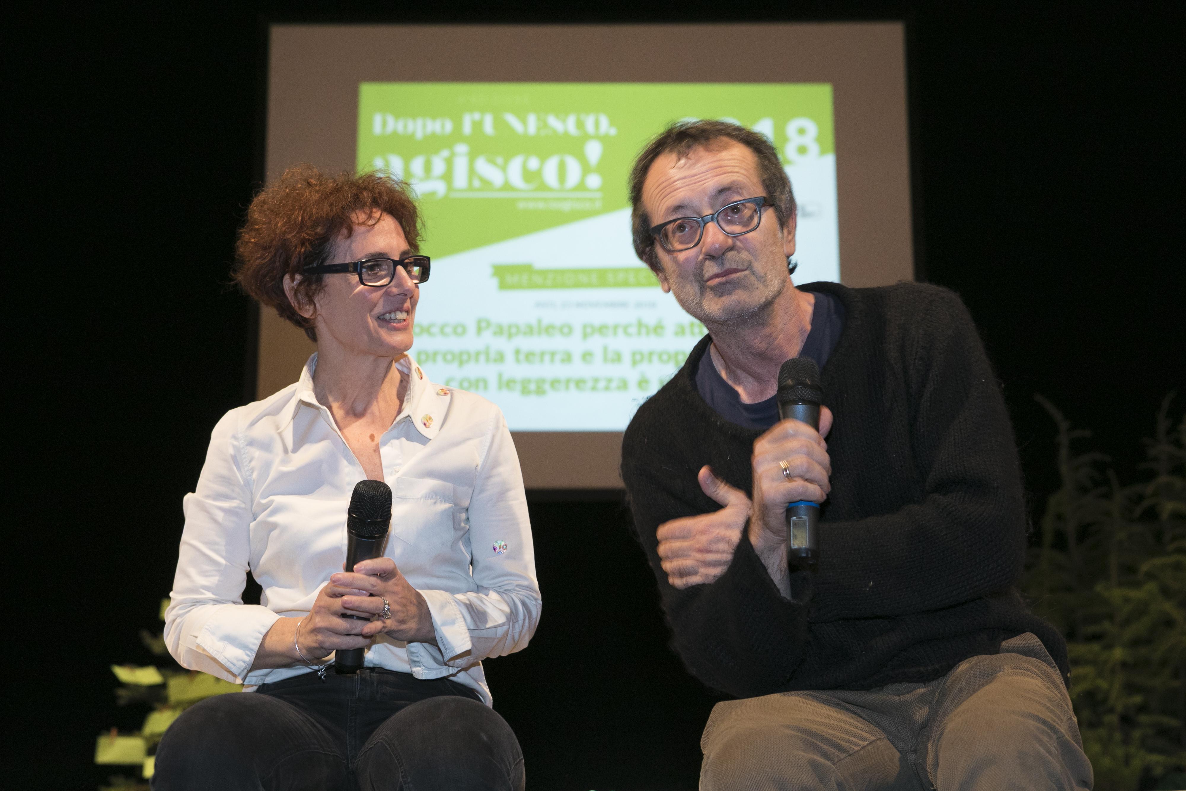 Rocco Papaleo e Liana Pastorin - courtesy Regione Piemonte