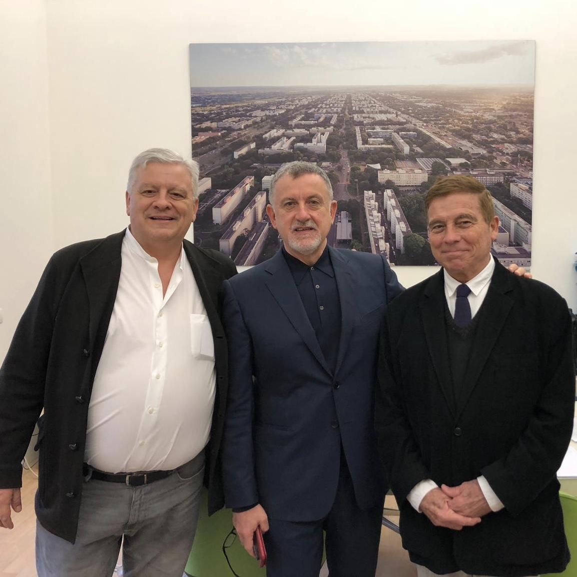 Alessandro Rocca e Alberto Campo Baeza - courtesy Politecnico di Milano