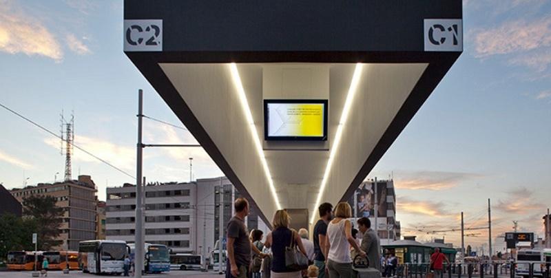 Tramway Terminal, la pensilina di capolinea del tram realizzata a Piazzale Roma a Venezia da Map Studio - Photo by Alessandra Bello
