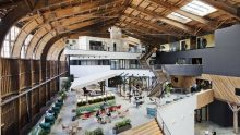 Google Spruce Goose: i nuovi uffici di Google a Los Angeles firmati ZGF