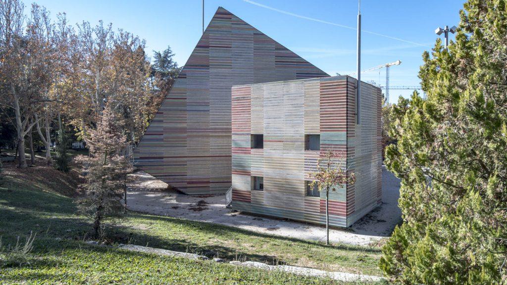 Il nuovo auditorium a L'Aquila - RPBW Renzo Piano Building Workshop (Renzo Piano, Paolo Colonna); Atelier Traldi (Alessandro Traldi) Fonte www.atlantearchitetture.beniculturali.it